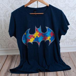 Anvil Tops - BATMAN woman or mens short sleeve t-shirt comic